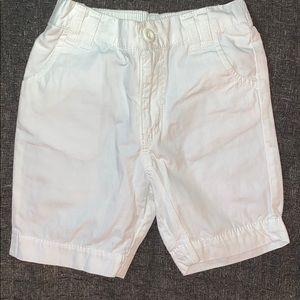 Circo White Bermuda Shorts